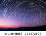 Star Trail In Thailand