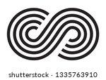 infinity  moebius vector symbol ...   Shutterstock .eps vector #1335763910