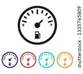 Fuel Gauge Icon.fuel Indicator...