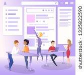 marketing team character create ...