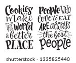 vector illustration set of... | Shutterstock .eps vector #1335825440