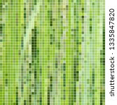 abstract vector square pixel... | Shutterstock .eps vector #1335847820