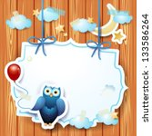 Owl And Balloon And Custom...