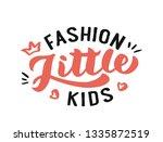 fashion kids hand drawn... | Shutterstock .eps vector #1335872519