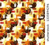 abstract art seamless pattern.... | Shutterstock .eps vector #1335894296