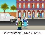 a vector illustration of... | Shutterstock .eps vector #1335926900
