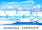 global warming. environmental... | Shutterstock .eps vector #1335931379