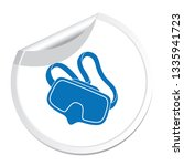 diving mask icon isolated.... | Shutterstock .eps vector #1335941723