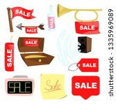 sale tag icon in flat style....