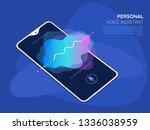 mobile app ui personal voice...