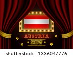 show time board for performance ... | Shutterstock .eps vector #1336047776