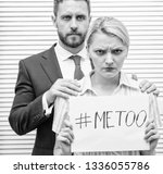 sexual harassment at work and... | Shutterstock . vector #1336055786