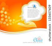 cloud technology    apps... | Shutterstock .eps vector #133607609
