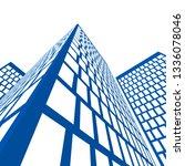 city architecture building  icon | Shutterstock .eps vector #1336078046