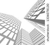 city architecture building  icon | Shutterstock .eps vector #1336078130