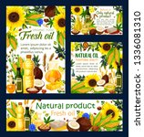 oil of natural products ... | Shutterstock .eps vector #1336081310
