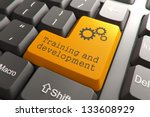 training and development ... | Shutterstock . vector #133608929