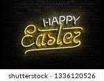 vector realistic isolated neon... | Shutterstock .eps vector #1336120526