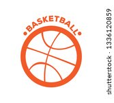 isolated basketball banner with ...   Shutterstock .eps vector #1336120859