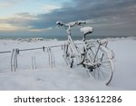 Bicycle Completely Covered Wit...
