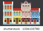 colorful and historical... | Shutterstock .eps vector #1336133780