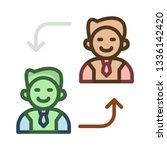 replace   employee   user   | Shutterstock .eps vector #1336142420