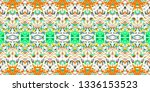 colorful seamless pattern for...   Shutterstock . vector #1336153523