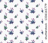 stitching seamless pattern with ... | Shutterstock .eps vector #1336161779