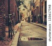Bicycle Boston - Fine Art prints