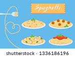 Cute Set Spaghetti Of Love ...