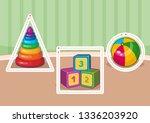 handwriting practice. basic...   Shutterstock .eps vector #1336203920