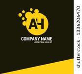 letter ah logo concept....