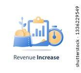fast cash loan  quick easy... | Shutterstock .eps vector #1336229549