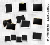 photo frame big set with... | Shutterstock .eps vector #1336233830