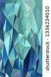 abstract polygonal mosaic... | Shutterstock .eps vector #1336234010