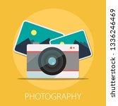 vector photographer studio...   Shutterstock .eps vector #1336246469