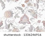 seamless pattern with stylized... | Shutterstock .eps vector #1336246916