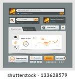 ui elements design for app.