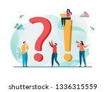 frequently asked questions...   Shutterstock .eps vector #1336315559