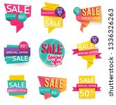 shop sale and promotion... | Shutterstock .eps vector #1336326263