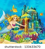 Постер, плакат: The princesses castles