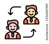 replace   employee   user   | Shutterstock .eps vector #1336369589