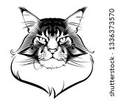 Maine Coon Cat Ink Graphic...