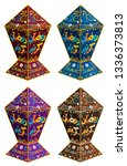 arabic text   generous ramadan... | Shutterstock .eps vector #1336373813