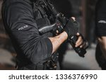police special forces.  | Shutterstock . vector #1336376990