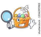 detective easter basket...   Shutterstock .eps vector #1336395983