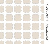 geometric ornamental vector... | Shutterstock .eps vector #1336445219