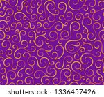retro seamless wave lines... | Shutterstock .eps vector #1336457426