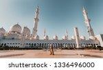 sheik zayed grand mosque   Shutterstock . vector #1336496000