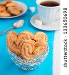 puff pastry cookies in vase | Shutterstock . vector #133650698